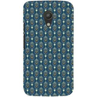 ifasho Animated Pattern design colorful flower in royal style Back Case Cover for Moto G2