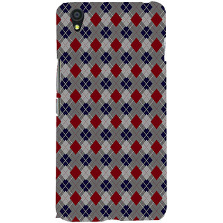 ifasho Animated Pattern design colorful in royal style Back Case Cover for One Plus X