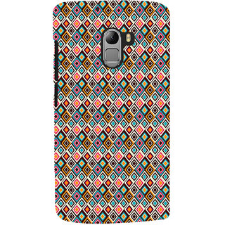 ifasho Animated Pattern design colorful in royal style Back Case Cover for Lenovo K4 Note
