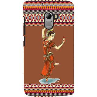 ifasho Odishi dance Back Case Cover for Lenovo K4 Note