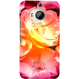 ifasho Flowers Back Case Cover for HTC ONE M9 Plus