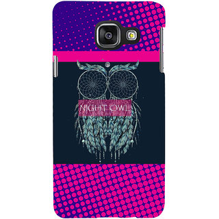 ifasho Stylish Owl Back Case Cover for Samsung Galaxy A3 A310 (2016 Edition)