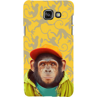 ifasho Monkey with red cap Back Case Cover for Samsung Galaxy A7 A710 (2016 Edition)