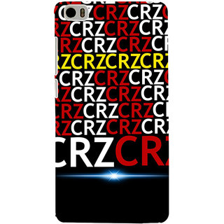 ifasho Crazy Quotes Back Case Cover for Redmi Mi5