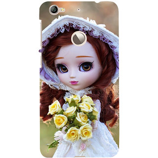 ifasho Girl with flower in hand Back Case Cover for LeTV 1S