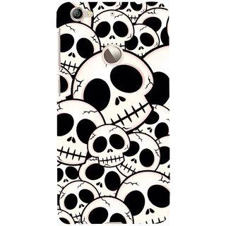ifasho Modern  Design skeleton Pattern Back Case Cover for LeTV 1S