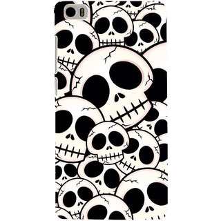 ifasho Modern  Design skeleton Pattern Back Case Cover for Redmi Mi5