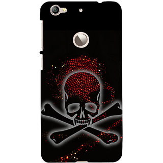 ifasho Modern  Design animated skeleton Back Case Cover for LeTV 1S