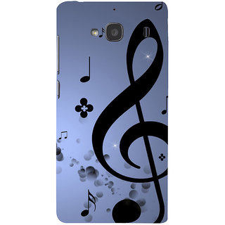ifasho Modern Art Design Pattern Music symbol Back Case Cover for Redmi 2S