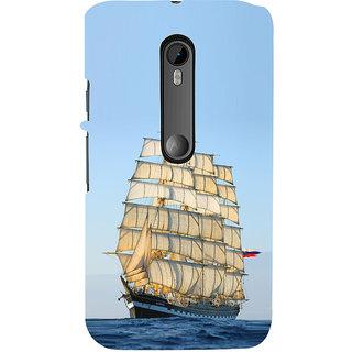ifasho Ship in See Back Case Cover for Moto G3