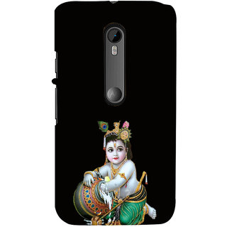 ifasho Lord Krishna stealing curd Back Case Cover for Moto G3
