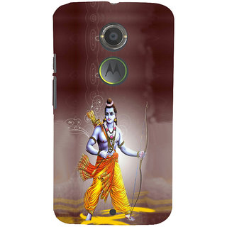 ifasho Lord Rama Back Case Cover for Moto E2