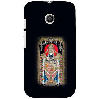 ifasho Tirupati Balaji Back Case Cover for MOTO E