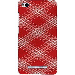 ifasho Design lines pattern Back Case Cover for Redmi Mi4i