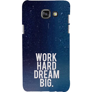 ifasho Life quote Back Case Cover for Samsung Galaxy A5 A510 (2016 Edition)