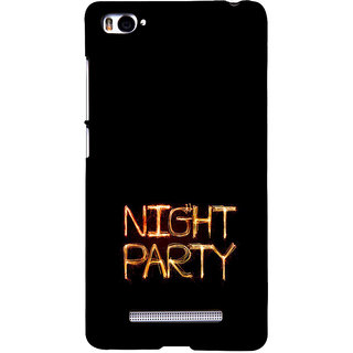 ifasho Night party Back Case Cover for Redmi Mi4i