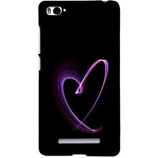 ifasho Modern Art Design heart animated Back Case Cover for Redmi Mi4i