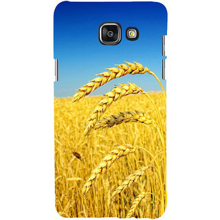 ifasho Rice grown in rice field Back Case Cover for Samsung Galaxy A7 A710 (2016 Edition)