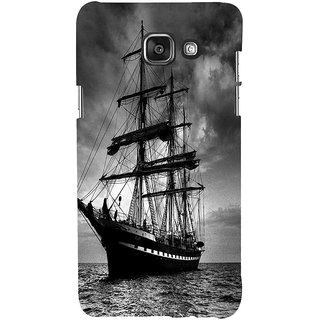 ifasho Ship in See Back Case Cover for Samsung Galaxy A7 A710 (2016 Edition)