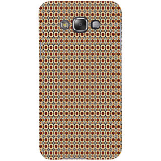 ifasho Animated Pattern design many small flowers  Back Case Cover for Samsung Galaxy E7