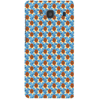 ifasho Modern Art Design animated cloth Pattern of sunflower Back Case Cover for Redmi 2S