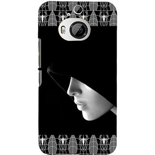 ifasho covered Girl and Spider Back Case Cover for HTC ONE M9 Plus