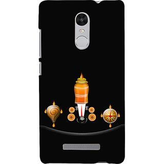 ifasho Tirupati Balaji Back Case Cover for REDMI Note 3