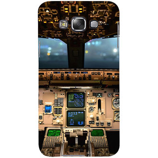 ifasho Plane cavin and machines Back Case Cover for Samsung Galaxy E7