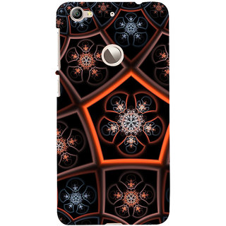 ifasho Animated Pattern design colorful flower in royal style Back Case Cover for LeTV 1S