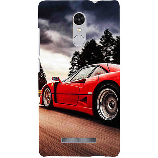 ifasho racing car Back Case Cover for REDMI Note 3
