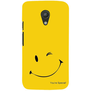 ifasho You are special Back Case Cover for Moto G2