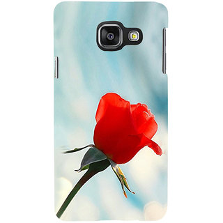 ifasho Red Rose Back Case Cover for Samsung Galaxy A3 A310 (2016 Edition)