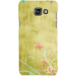ifasho Animated Pattern colrful 3Daditional design cloth pattern Back Case Cover for Samsung Galaxy A7 A710 (2016 Edition)