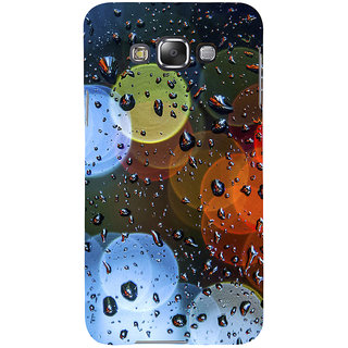 ifasho water Drop on colorful glass Back Case Cover for Samsung Galaxy E7