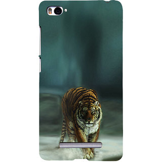 ifasho Leopard resting Back Case Cover for Redmi Mi4i