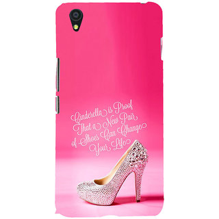 ifasho life changing quote Back Case Cover for One Plus X