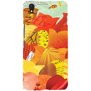 ifasho Animated Pattern colrful paper cuttings Back Case Cover for One Plus X
