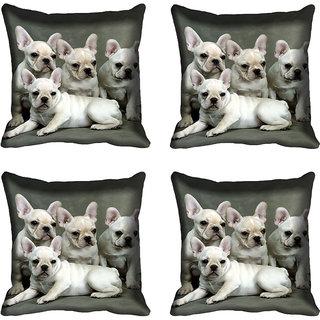meSleep Dog Digital printed Cushion Cover (16x16)