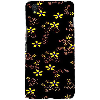 ifasho Animated Pattern colrful design flower with leaves Back Case Cover for One Plus X