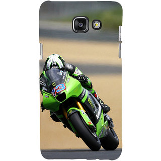 ifasho Sports Bike Back Case Cover for Samsung Galaxy A5 A510 (2016 Edition)