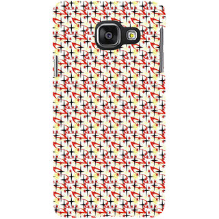 ifasho Animated Pattern colourful littel stars Back Case Cover for Samsung Galaxy A3 A310 (2016 Edition)