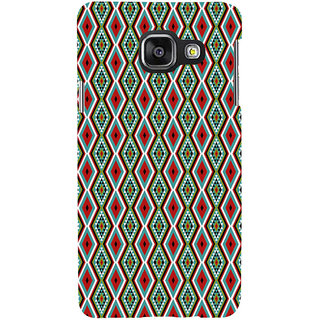 ifasho Animated Pattern colrful 3Daditional design Back Case Cover for Samsung Galaxy A3 A310 (2016 Edition)