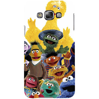 ifasho Cartoon Soft face many cartoons characters Back Case Cover for Samsung Galaxy E7