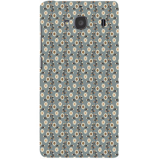 ifasho Animated Pattern colrful design flower with leaves Back Case Cover for Redmi 2S