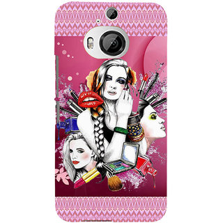 ifasho fashion Girls Back Case Cover for HTC ONE M9 Plus