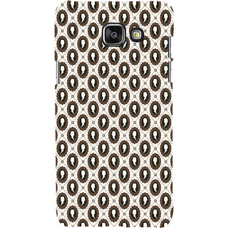 ifasho Animated  Royal design with Queen head pattern Back Case Cover for Samsung Galaxy A7 A710 (2016 Edition)