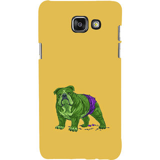 ifasho Animated Design Dog Back Case Cover for Samsung Galaxy A5 A510 (2016 Edition)