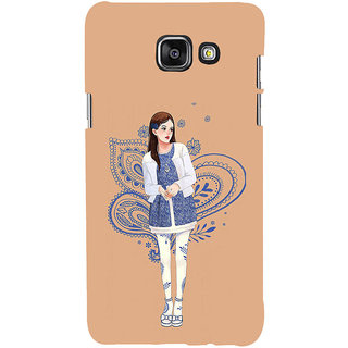 ifasho Beautiful Girl Back Case Cover for Samsung Galaxy A5 A510 (2016 Edition)