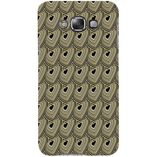 ifasho Modern Art Design Pattern with Lot Of small heart Back Case Cover for Samsung Galaxy E7