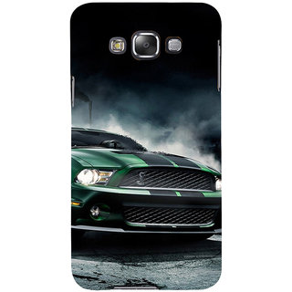 ifasho Royal  Running Car in wind Back Case Cover for Samsung Galaxy E7